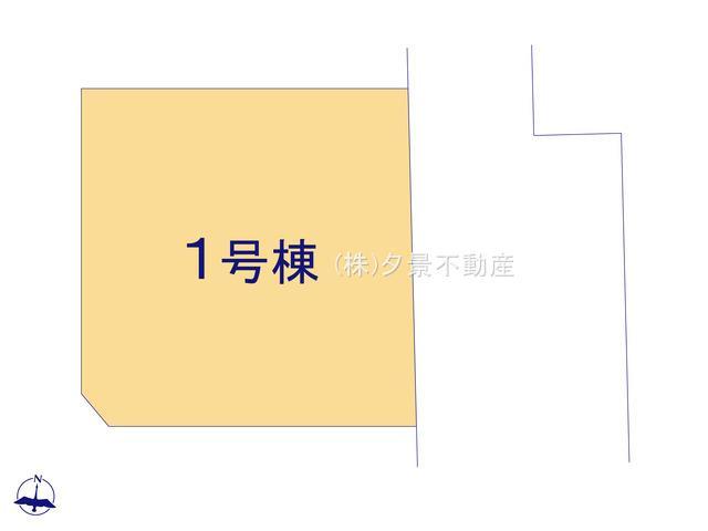 【区画図】川口市大字伊刈1017-6(全1戸)新築一戸建てリーブルガーデン