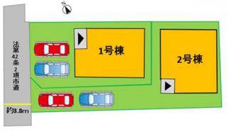 配置図(2号棟)