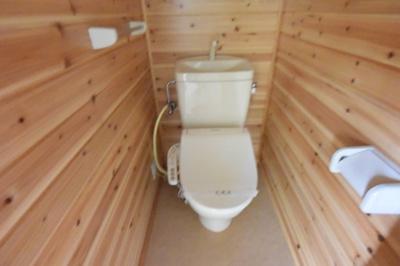 ※イメージ 落ち着いた色調のトイレです