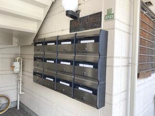 【設備】安藤ホームズ バストイレ別 駅近 室内洗濯機置場