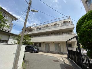 【外観】安藤ホームズ バストイレ別 駅近 室内洗濯機置場