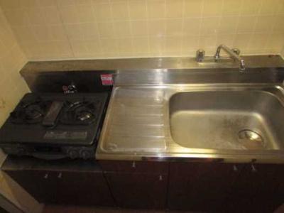 【キッチン】安藤ホームズ バストイレ別 駅近 室内洗濯機置場