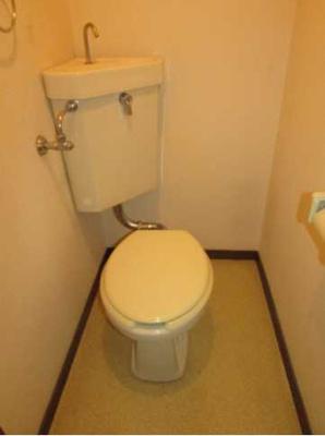 【トイレ】安藤ホームズ バストイレ別 駅近 室内洗濯機置場