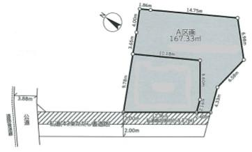【土地図】保土ヶ谷区鎌谷町土地
