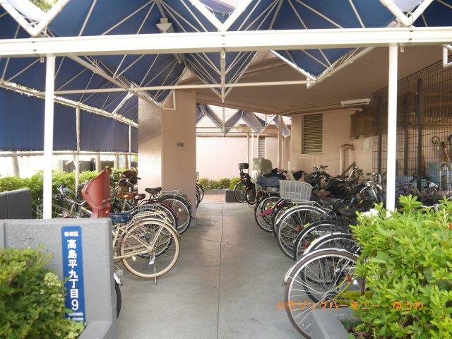 【駐輪場】稲和高島平ハイム