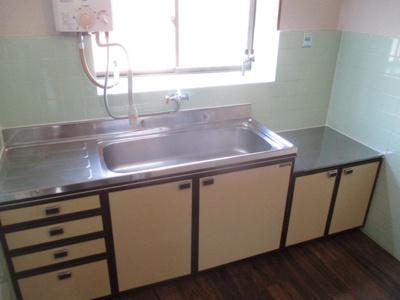 【キッチン】東加賀屋3丁目テラスハウス