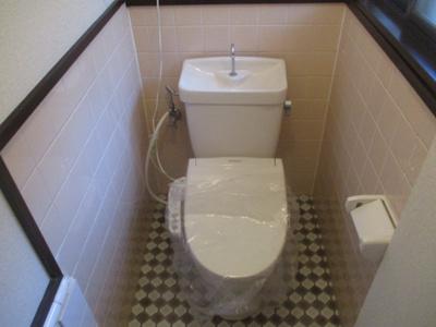 【トイレ】東加賀屋3丁目テラスハウス