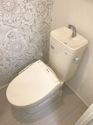 【トイレ】ハーモニーテラス方南町West