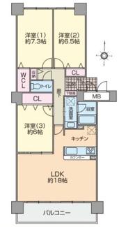 阪急ヒルズコート高槻4番館