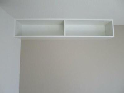 上部にも棚があります。