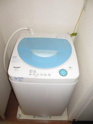 洗濯機付きなので引越し楽々♪