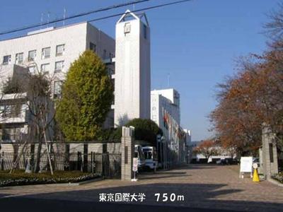 東京国際大学まで750m