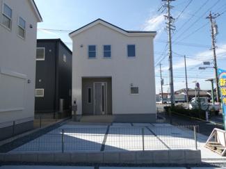 碧南第50春日町新築分譲住宅2号棟写真です。2021年8月現在