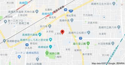 【地図】ピア高槻 (株)Roots