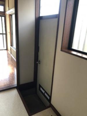 【玄関】大野西アパート