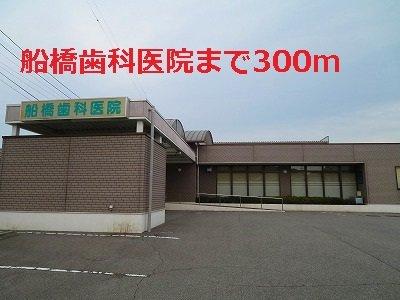 船橋歯科医院まで300m