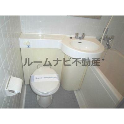 【トイレ】ワールドパレス東日暮里