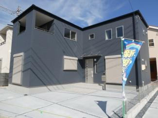 碧南第50春日町新築分譲住宅3号棟写真です。2021年8月現在