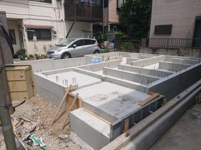 【外観】足立区入谷2丁目新築戸建て