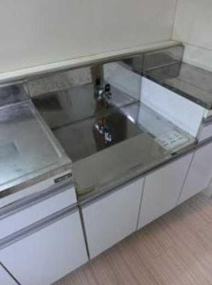 【キッチン】メゾンGO バストイレ別 室内洗濯機置場 オートロック