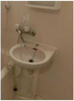 【洗面所】メゾンGO バストイレ別 室内洗濯機置場 オートロック