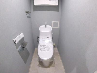 【トイレ】ライオンズマンション雲雀丘花屋敷第二