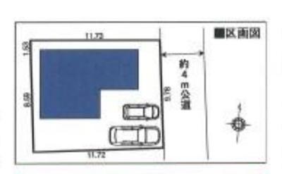 【区画図】東村山市野口町3丁目 全1棟