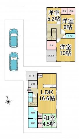 デザイン住宅「FIT」糸島市加布里4丁目1期2号棟 4LDK