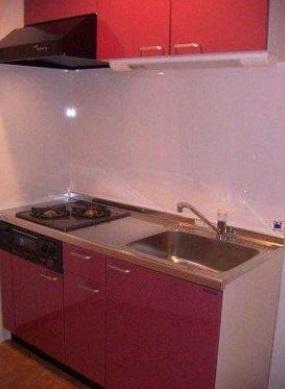 【キッチン】グラシュー・1 2面採光 浴室乾燥機 追炊 オートロック
