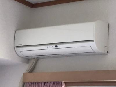 エアコン付き