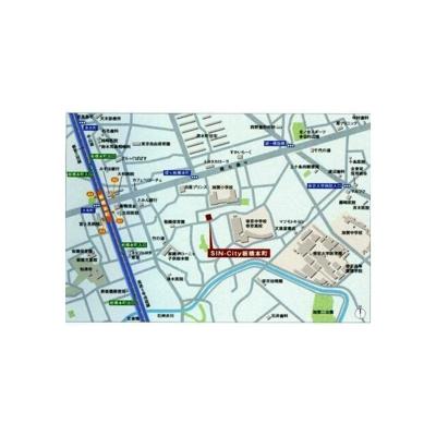 【地図】シンシティー板橋本町