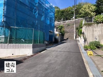 宝塚市御殿山4丁目2期 新築一戸建て 2021/8/5現地撮影
