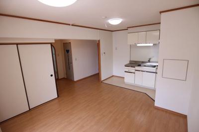 【居間・リビング】シティハイツ竹の台1号棟