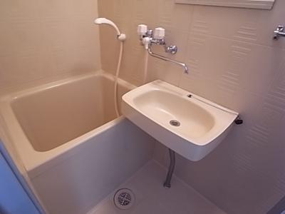 【浴室】ブルーハイム