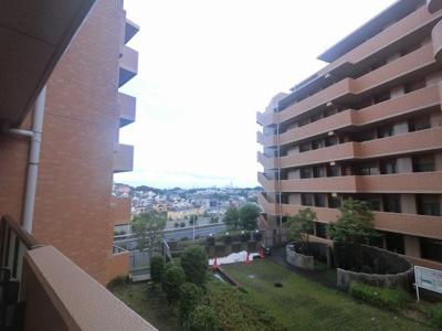 2階部分からの眺望です。