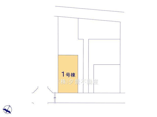 【区画図】見沼区島町142(全5戸1号棟)新築一戸建てリーブルガーデン