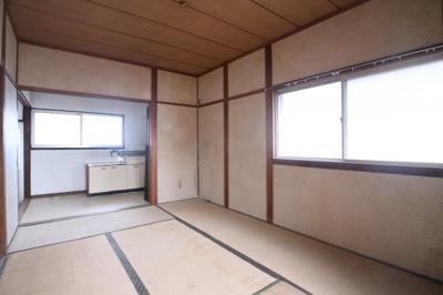 【寝室】舞子台コーポ