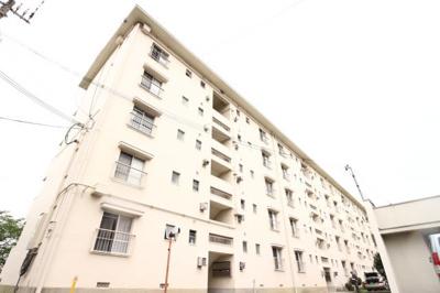 【外観】神陵台厚生年金住宅4号棟
