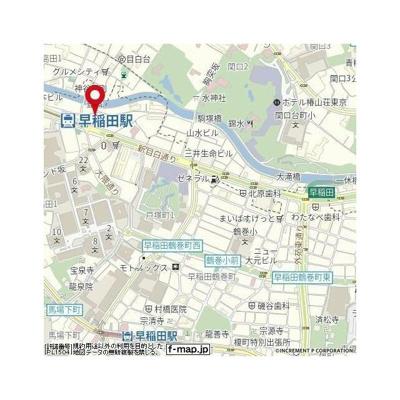 【地図】ロアール早稲田大学前
