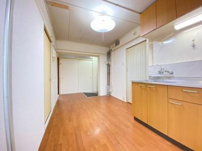 【居間・リビング】上高丸厚生年金住宅3号棟