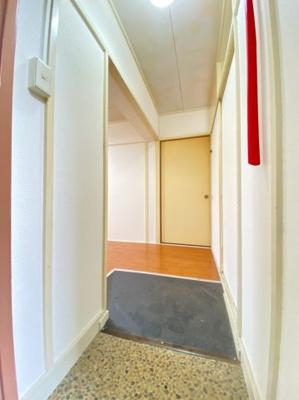 【玄関】上高丸厚生年金住宅3号棟