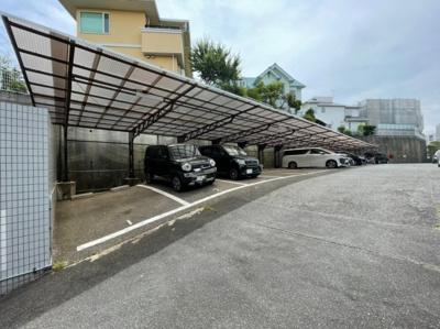 【駐車場】ガーデンハイツ桃山台2番館