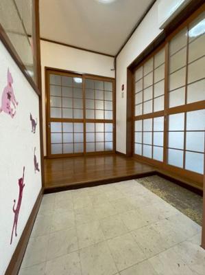 【玄関】青山台住宅20号棟