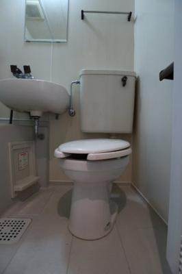 【トイレ】メゾンブランシェ