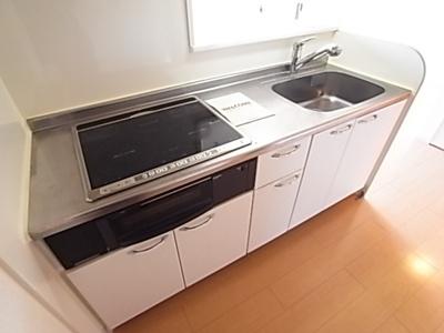 【キッチン】ウィルモア垂水B棟