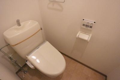 【トイレ】クレールベルヴィル立花