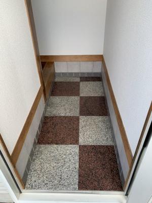 【玄関】ハイツ・ランバーB