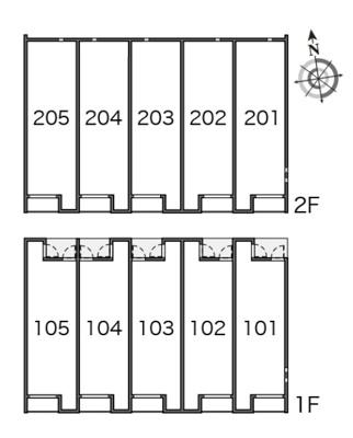 【区画図】ビレッジパル