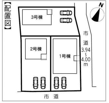 【区画図】袋井市太田 20-1期 新築一戸建て 3号棟 ID