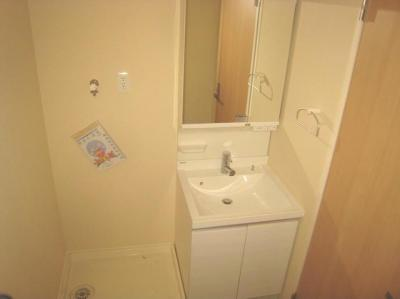【洗面所】ラ・クルシェットⅡ 独立洗面台 追炊き 浴室乾燥機
